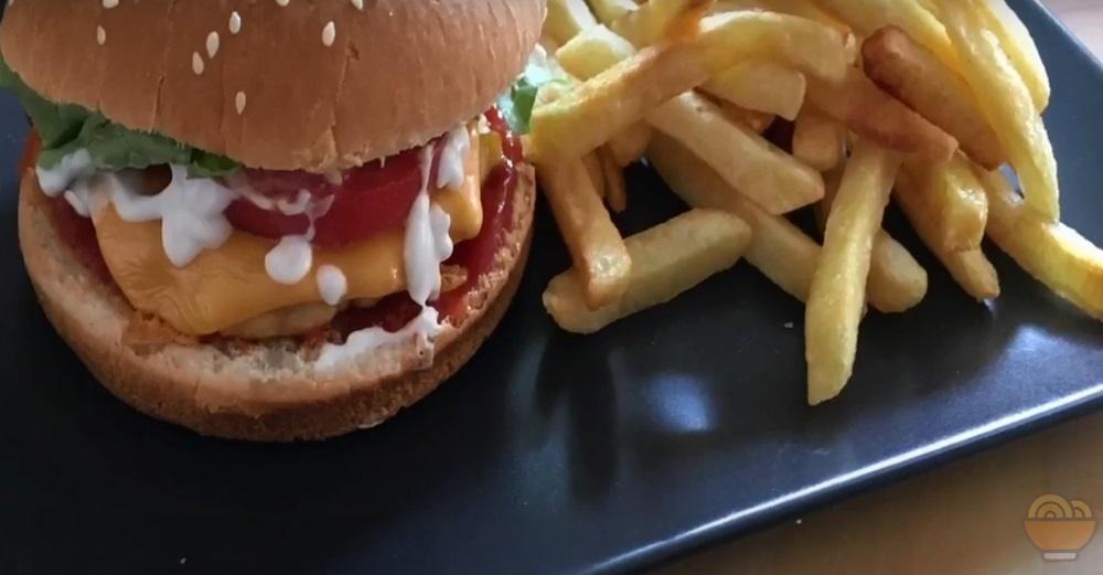 tavuk burger