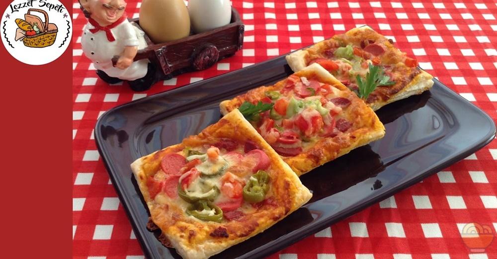 Hızlı Milföy Pizza Tarifi