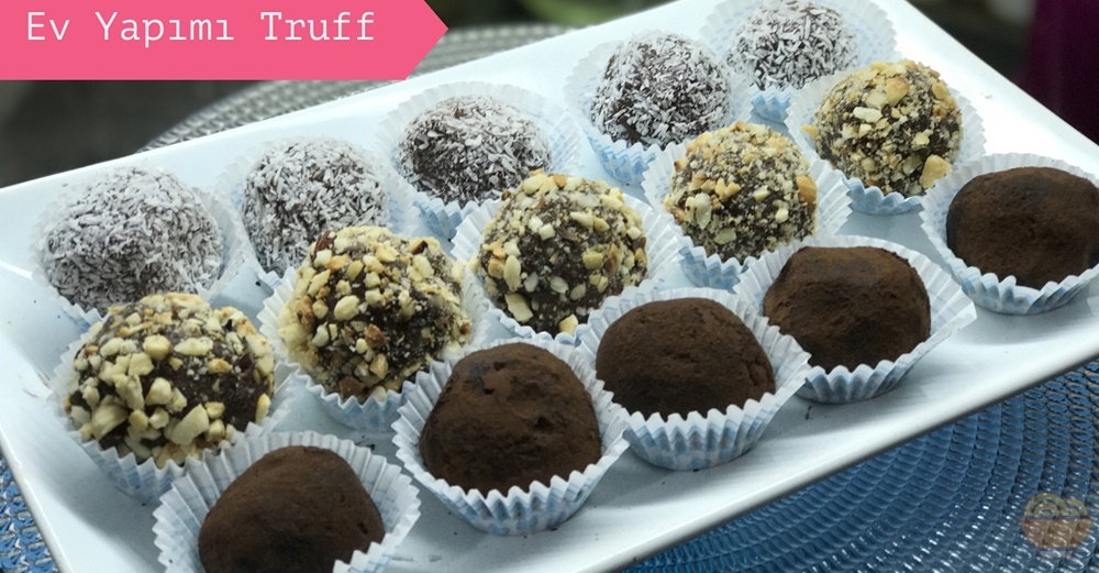 kekli truffle tarifi