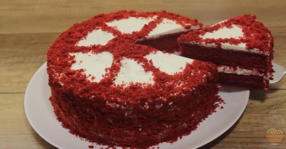 Kırmızı Kadife Pasta Tarifi (Red Velvet Cake)
