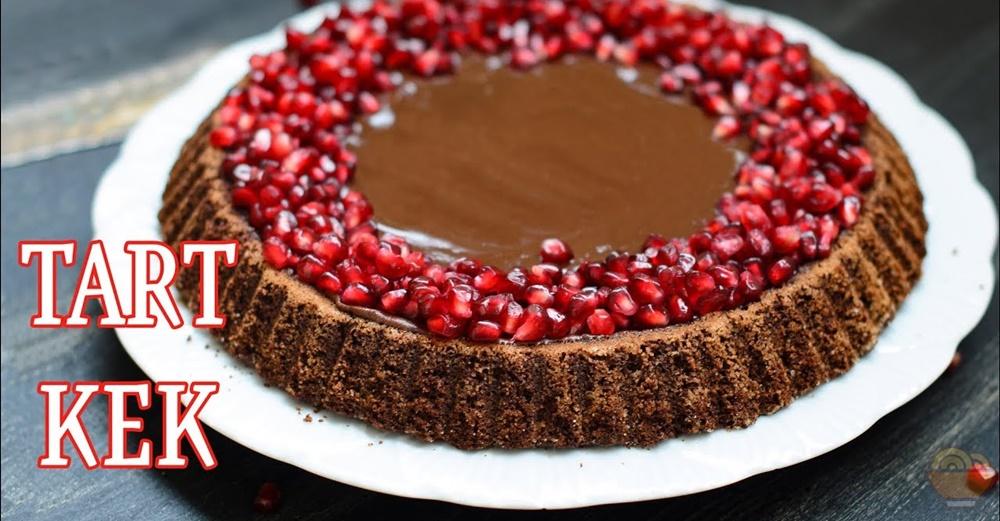 Narlı Çikolatalı Tart Tarifi